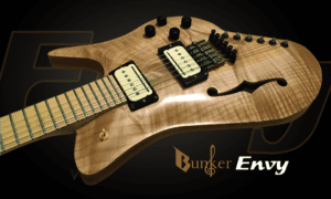 Bunker Guitars Pro-Star Envy