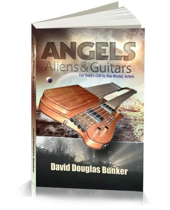 Angels Aliens and Guitars Book Title