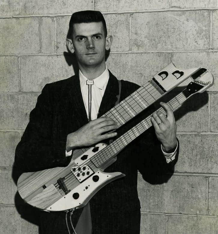 Touch Guitar History: Dave Bunker
