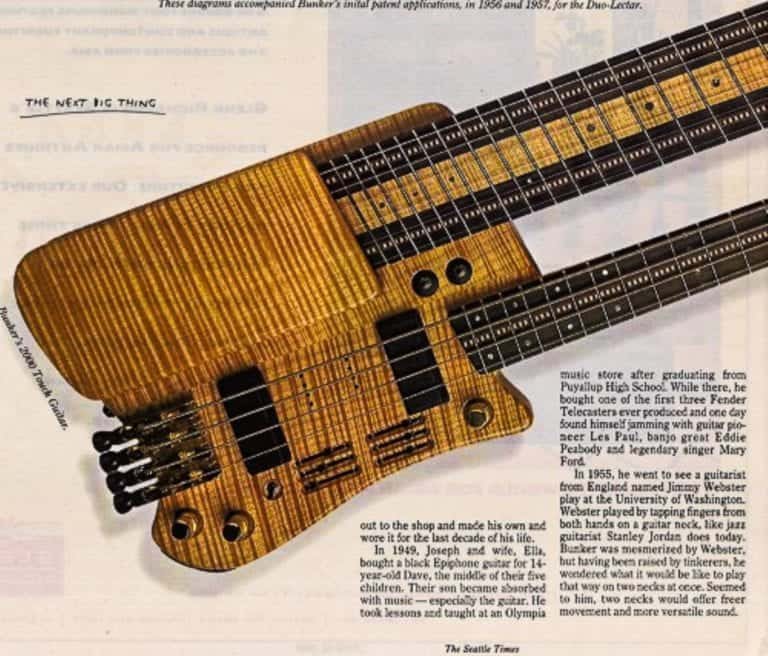 Bunker Touch Guitar Article
