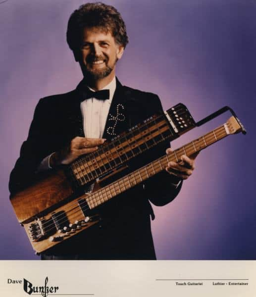 Touch Guitar History: Photo of Dave Bunker