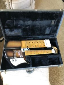 Touch Guitar History: Dave Bunker DuoLectar in case
