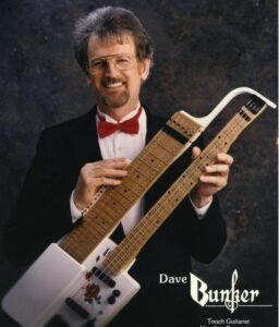 Dave Bunker with Touch Guitar
